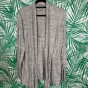 Sejour grey knit cardigan sz 3X